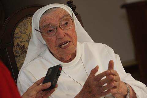 Muere-a-los-94-anos-la-madre-Ancilla-Beretta,-fundadora-del-Colegio-Uboldi