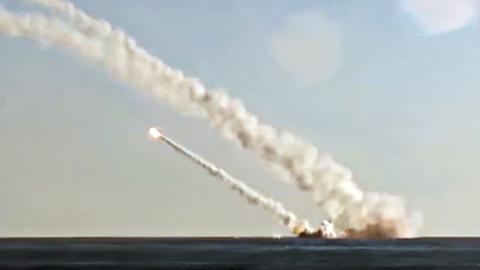 Rusia-lanza-misiles-contra-Siria-desde-submarino-por-primera-vez