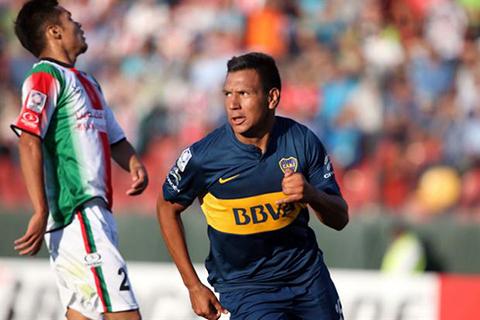 Boca-vencio-a-Palestino-en-su-debut-por-la-Libertadores