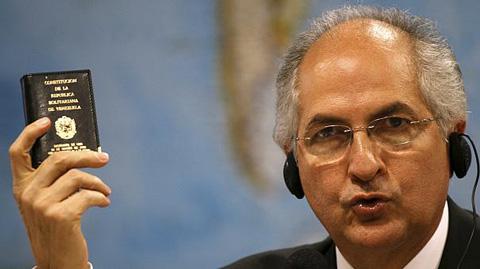 Detienen-al-alcalde-opositor-en-Caracas