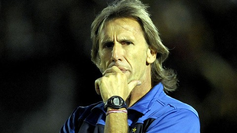 El-argentino-Ricardo-Gareca,-presentado-como-entrenador-de-Peru