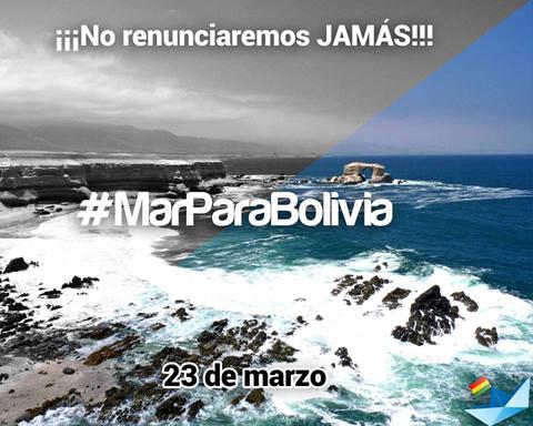 Twitazo A Una Sola Voz Exigiendo Mar Para Bolivia