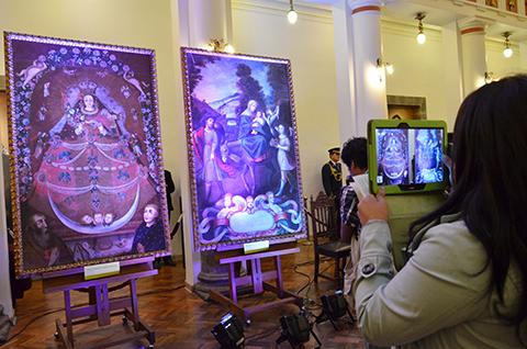 Bolivia-recupera-lienzos--Huida-a-Egipto--y--Virgen-de-la-Candelaria--robados-hace-13-anos