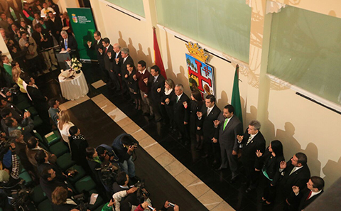 Posesionan-al-nuevo-gabinete-de-la-Gobernacion