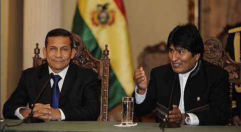 Morales-pedira-a-Humala-que-tren-bioceanico-pase-por-Bolivia