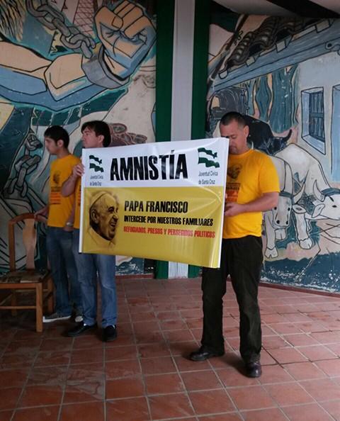 Familiares-intensifican-campana-pidiendo-Amnistia-al-gobierno