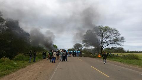 Reportan-detencion-de-indigenas-tras-desbloqueo-de-ruta-a-Camiri