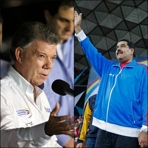 Maduro:--Estoy-dispuesto-a-hablar-con-Santos-donde-quiera-y-cuando-quiera-