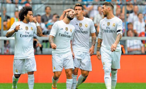 El-Real-Madrid-celebra-otro-triunfo-en-amistoso