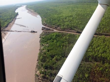 Advierten-que-obstruccion-del-rio-causara-dano-ambiental