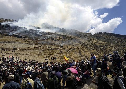 Protesta-contra-proyecto-minero-deja-4-muertos-en-Peru