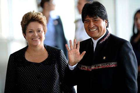 Morales-se-reunira-el-2-de-febrero-con-la-presidenta-Dilma-Rousseff
