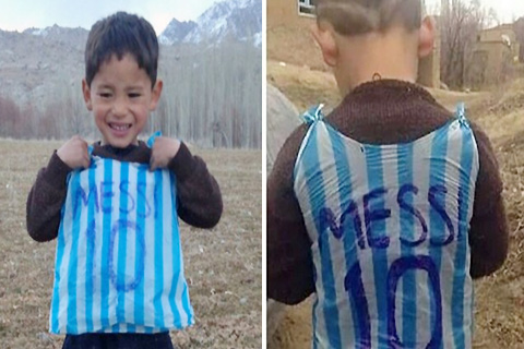 Messi-conocera-al-nino-que-conmovio-al-mundo-con-su-camiseta-de-bolsa-plastica