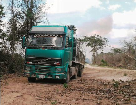 Un-camionero-desaparece-con-su-cargamento-