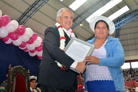 Secretario-general-de-Unasur-llega-a-Bolivia-para-reunirse-con-Evo-Morales