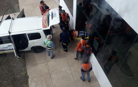Fallece-ingeniero-tras-caer-del-techo-del-aeropuerto-de-Alcantari-en-Sucre