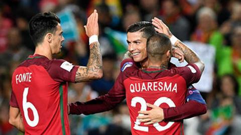 Portugal-gano-a-Letonia-4-1-con-doblete-de-Cristiano-Ronaldo