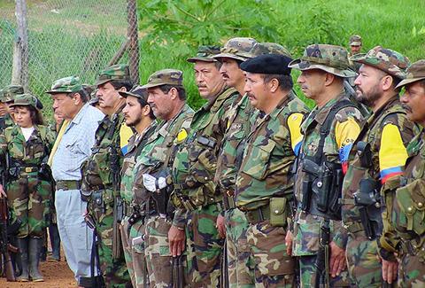 Dos-presuntos-guerrilleros-de-FARC-muertos-en--combates--en-Colombia