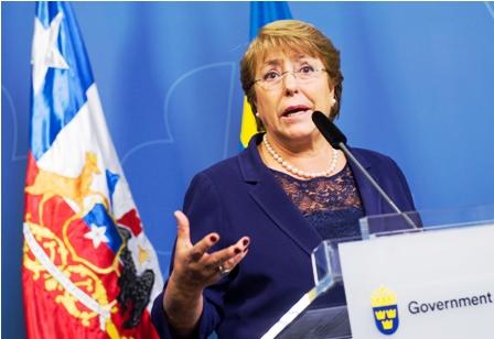 Chile-es-tierra-de-migrantes,-dice-Bachelet