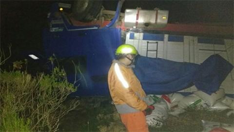 Viceministro-de-Defensa-Civil-y-cinco-funcionarios-se-accidentan-en-via-Cochabamba-Santa-Cruz