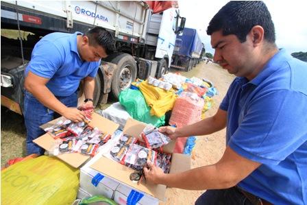 Aduana-decomisa-90-tn-de-alimentos-de-contrabando
