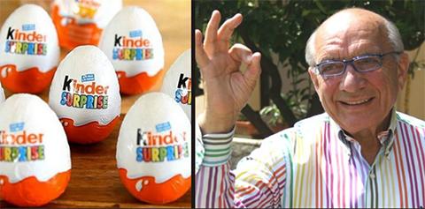 Muere-William-Salice,-el-inventor-del-huevo-Kinder