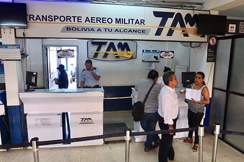 El-TAM-derivara-sus-pasajeros-a-Boliviana-de-Aviacion-