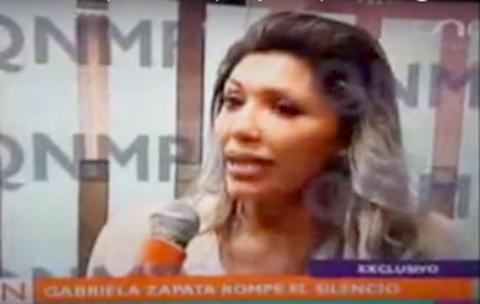 Gabriela-Zapata,-ex-pareja-de-Evo-Morales,-lanza-amenazas-de-juicios