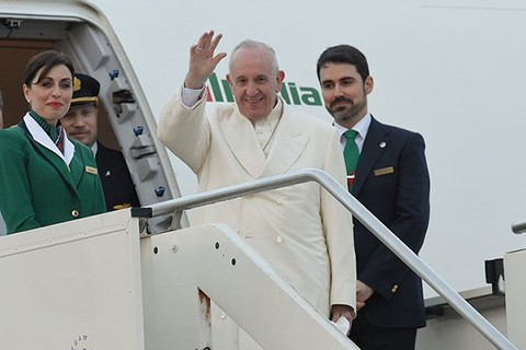 Francisco-parte-a-Cuba-para-reunirse-con-el-patriarca-ruso-Kirill