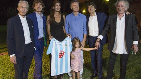 Mauricio-Macri-ceno-con-los-Rolling-Stones