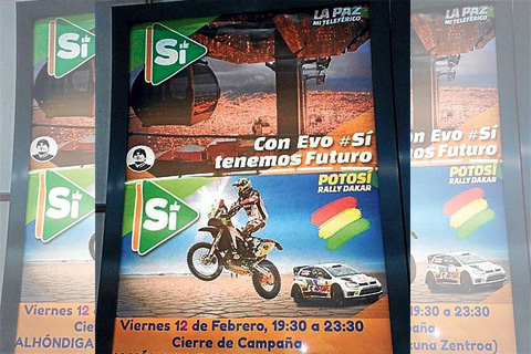 El-metro-de-Bilbao,-Espana,-retira-propaganda-por-el--Si--