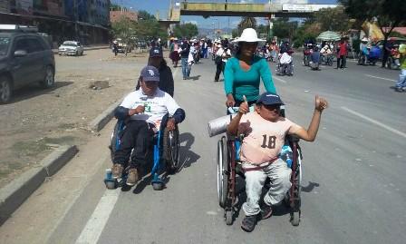 Discapacitados-no-dialogaran-hasta-llegar--a-La-Paz