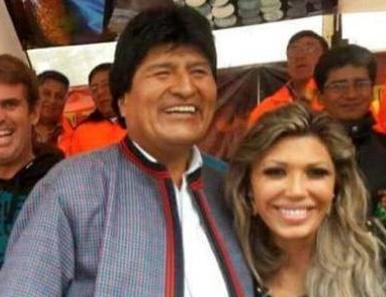 Evo-Morales-se-querella-contra-Gabriela-Zapata-por-supuesta--violencia-psicologica--hacia-su-hijo