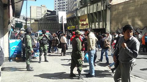 Reportan-amenaza-de-bomba-en-la-Fiscalia-de-La-Paz-y-evacuan-al-personal