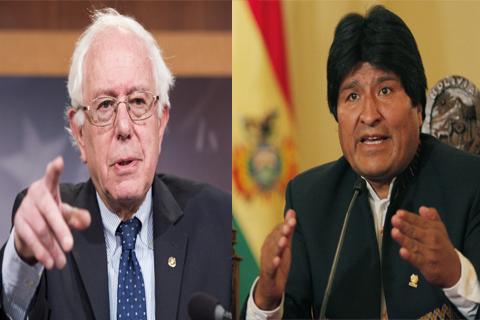 Morales-se-reunio-con-Bernie-Sanders-en-el-Vaticano