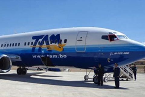 TAM-recibe-motor-reparado-para-avion-Boeing-737-300-de-su-flota