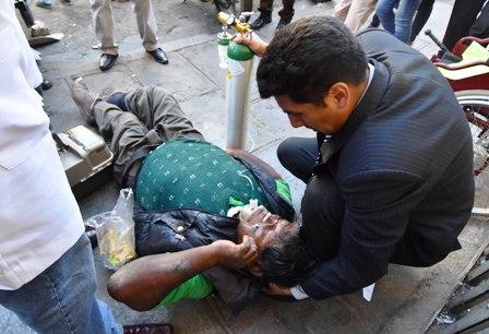 Discapacitados-reprimidos-con-gas-pimienta-en-La-Paz-