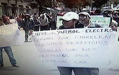 Cuatro-marchas-paralizan-el-centro-de-La-Paz