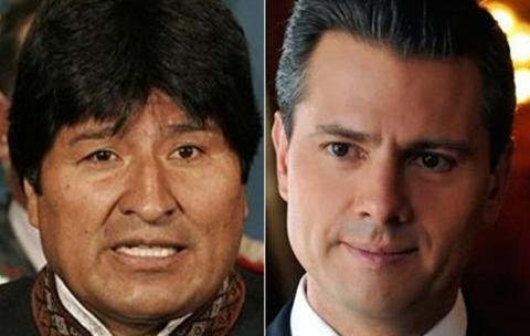 Alistan-un-encuentro-entre-Evo-Morales-y-Enrique-Pena-Nieto