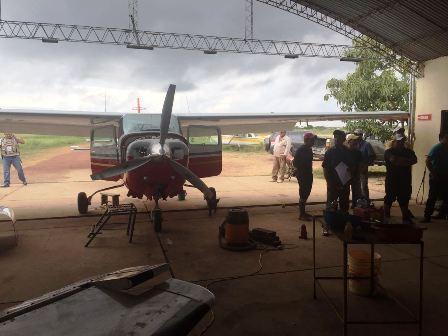 Allanan-hangares-en-operativo-antidrogas-en-Beni