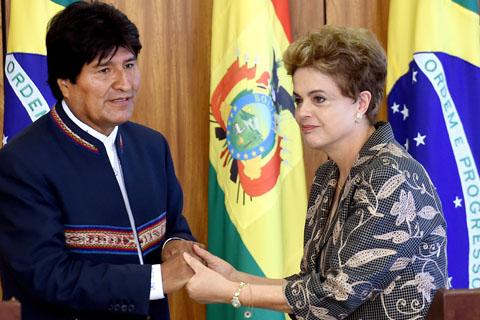 """Evo-condena-el-""""atentado-contra-la-democracia""""-en-Brasil"""