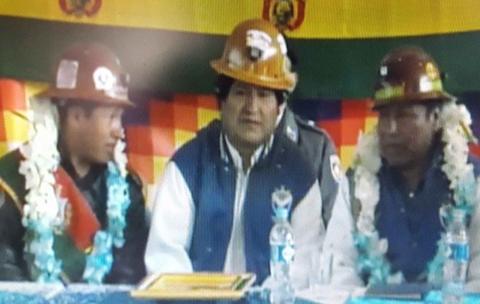Cooperativistas-mineros-buscan-estrategia-politica-para-la-reeleccion-de-Evo-en-2019