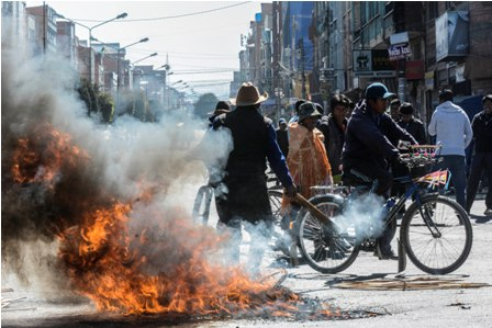 Seis-marchas-de-protesta-paralizan-sede-de-Gobierno