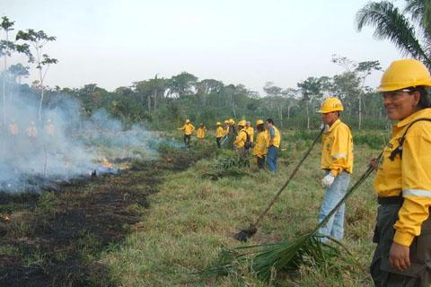 Promueven-curso-internacional-de-prevencion-y-combate-de-incendios-forestales-en-Santa-Cruz