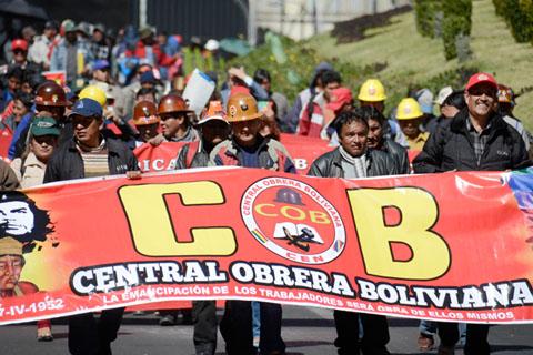 COB-articula-paro-nacional-para-el-lunes-en-abierto-desafio-al-Gobierno
