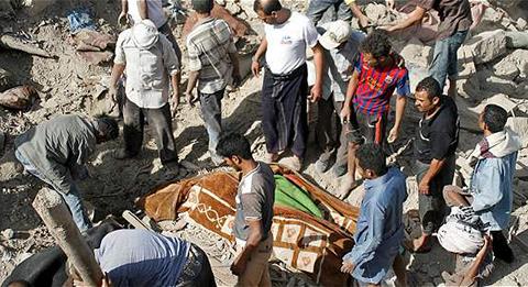 Al-menos-80-muertos-en-bombardeos-y-combates-en-Yemen