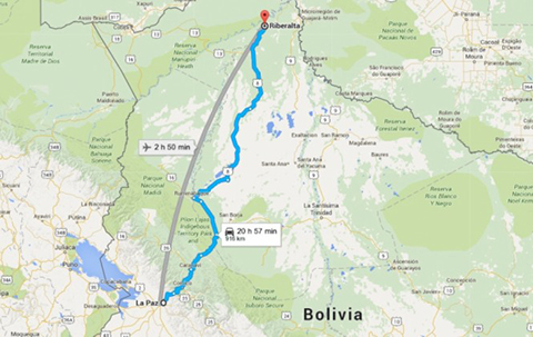Bus-choca-contra-un-camion-en-ruta-La-Paz---Riberalta-y-deja-un-muerto-y-varios-heridos