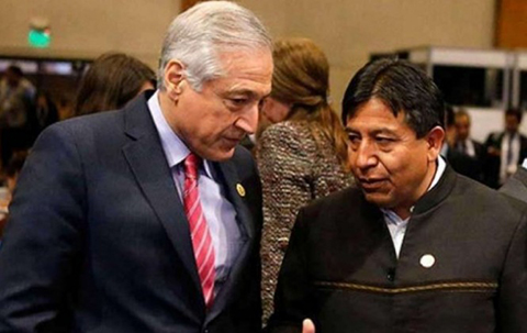 Evo-califica-a-Chile-como--neocolonialista-racista--por-rechazar-la-visita-de-canciller-a-Antofagasta