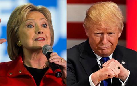 Clinton-y-Trump-igualados-en-sondeo-sobre-eleccion-presidencial
