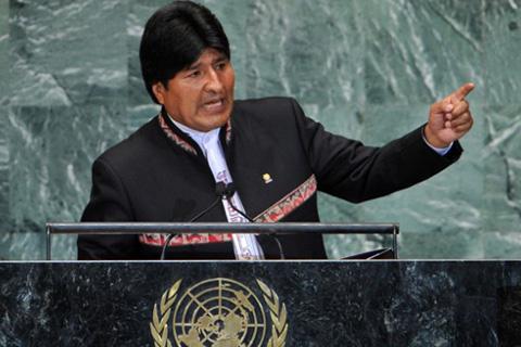 Evo-reitera-invitacion--al-dialogo--a-Chile-durante-intervencion-en-la-ONU-